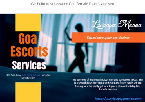 We Build Trust Between Goa Female Escorts And You